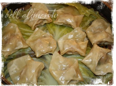 these dumplings the combination of ginger garlic scallions and pork ...