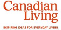 Canadian Living logo - reads inspiring ideas for everyday living