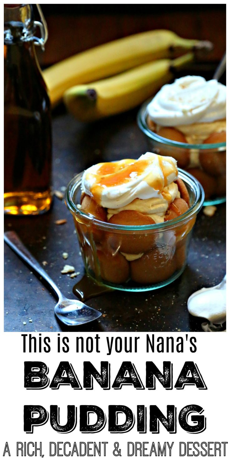 If you;re looking for a banana pudding recipe to end all banana puddings, try this recipe. It's rich, decadent and dreamy #pudding #bananapudding #desserts #easyrecipe #southernrecipes
