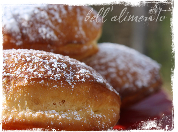 Nutella filled Doughnuts | bell' alimento