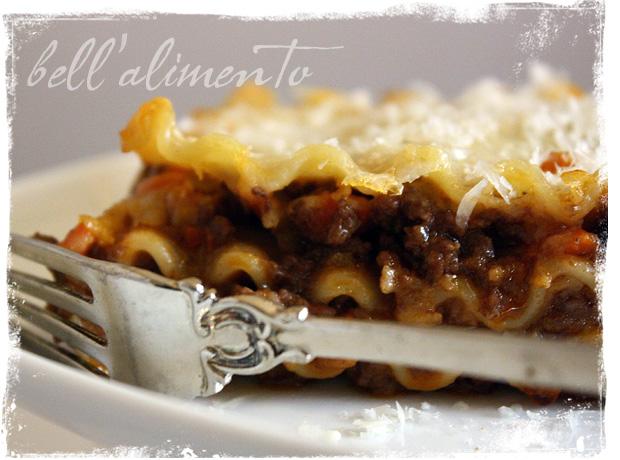 Lasagne alla Bolognese | bell' alimento