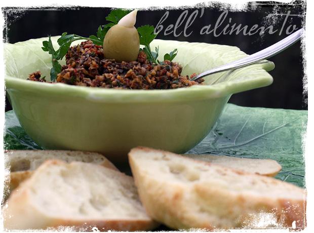 Olive Tapenade Crostini