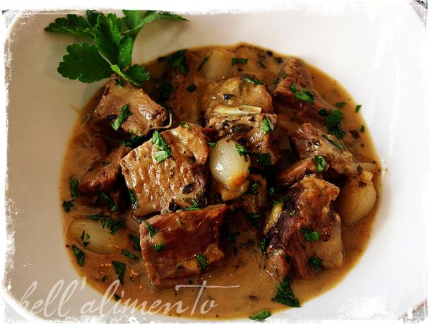 Stufato di Agnello {Lamb Stew} | bell' alimento