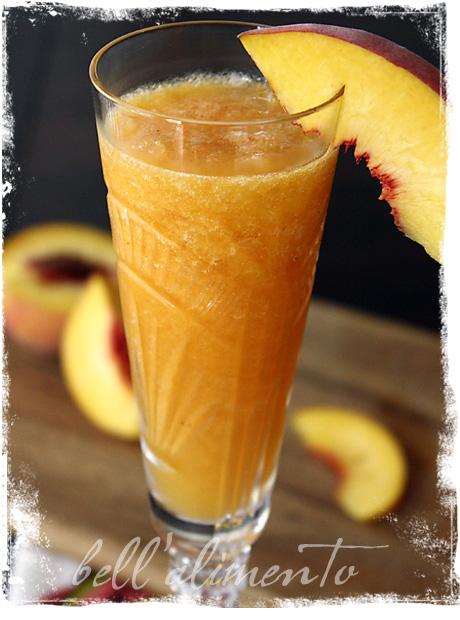 Peach Bellinis Recipe — Dishmaps