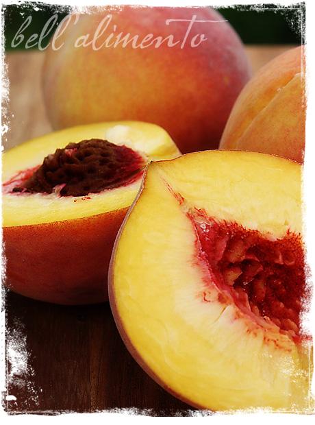 Bellini Surgelato {Frozen Peach Bellini}