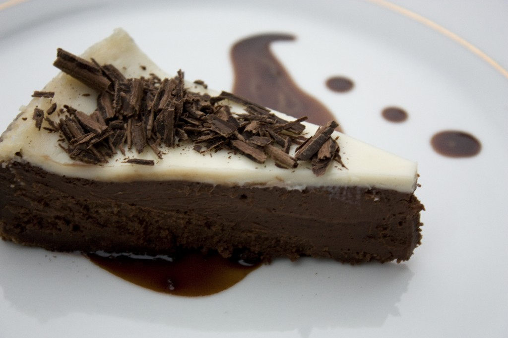Chocolate Cheesecake with Nutella Mocha Affogato | bell' alimento