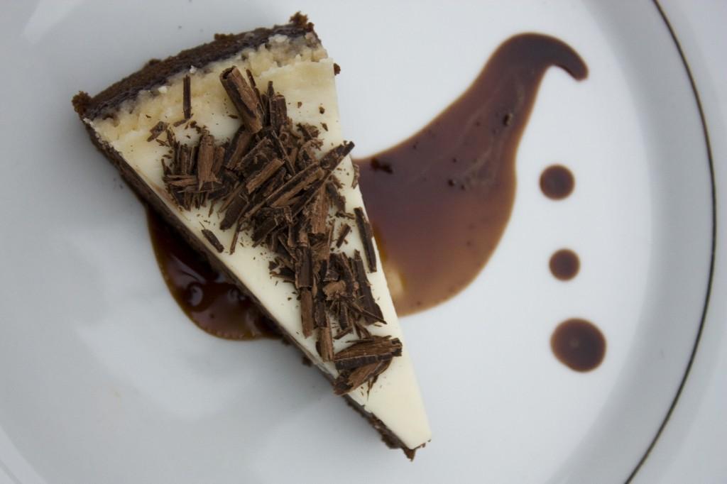 Chocolate Cheesecake with Nutella Mocha Affogato | bell' alimento