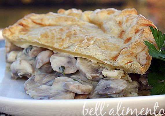 Mushroom Pie | bell' alimento