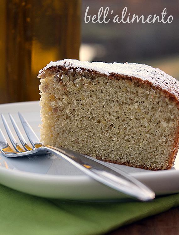 Torta all'Olio di Oliva {Olive Oil Cake}