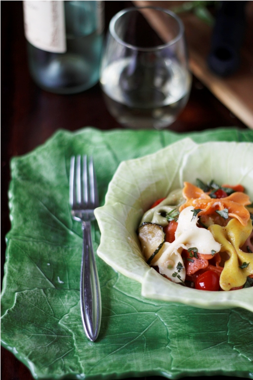 Spring Butterfly Pasta