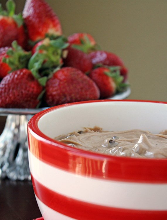 Paula's Nutella and Chocolate Chip Cream Cheese Party Dip