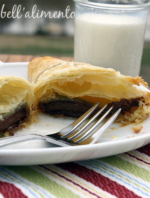Nutella Turnovers   bell' alimento