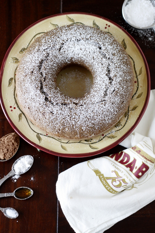 Chocolate Ring Cake | bell' alimento