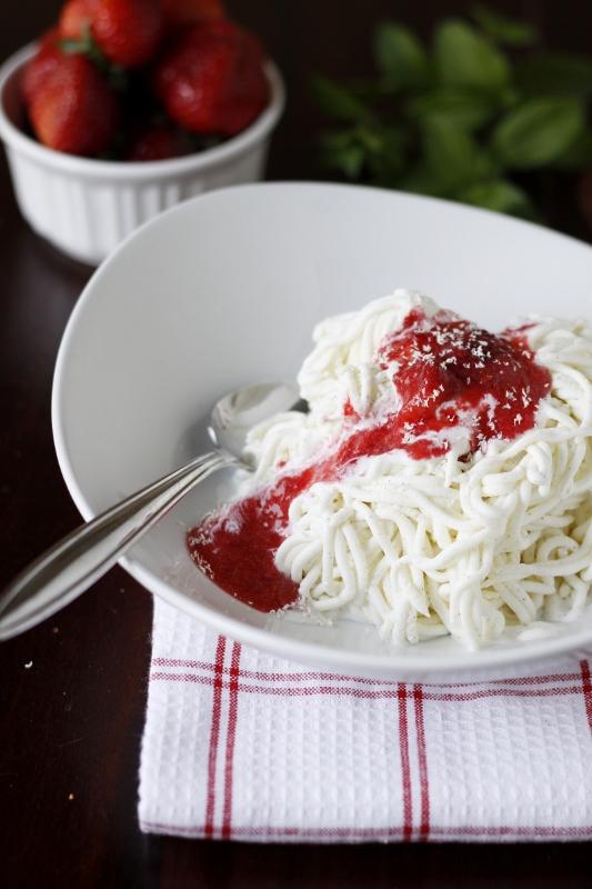 Spaghetti Gelato