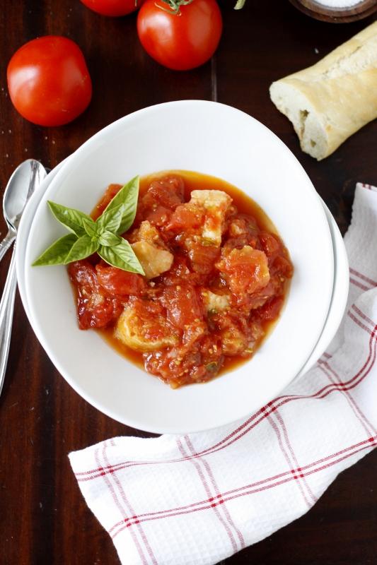 Pappa al Pomodoro {Tomato and Bread Soup}