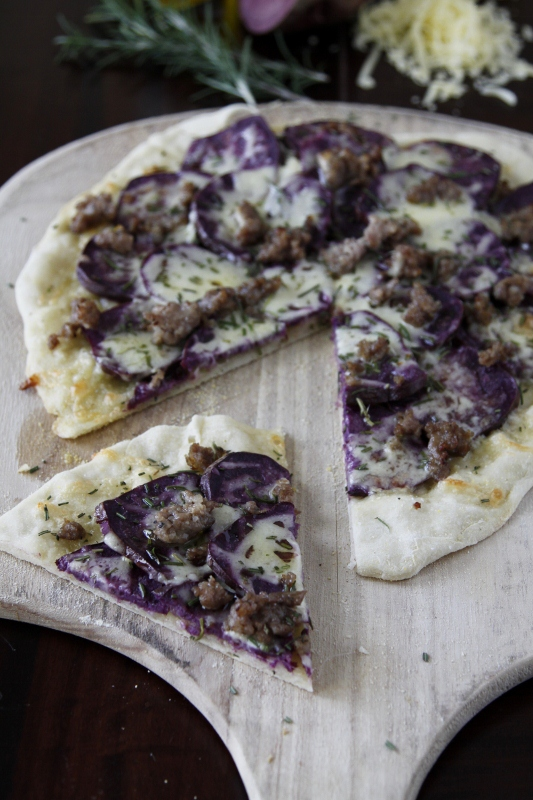 Potato Pizza {Pizza alle Patate}