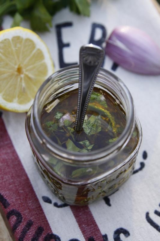 Lemon Marinade {Marinata al Limone} | bell' alimento