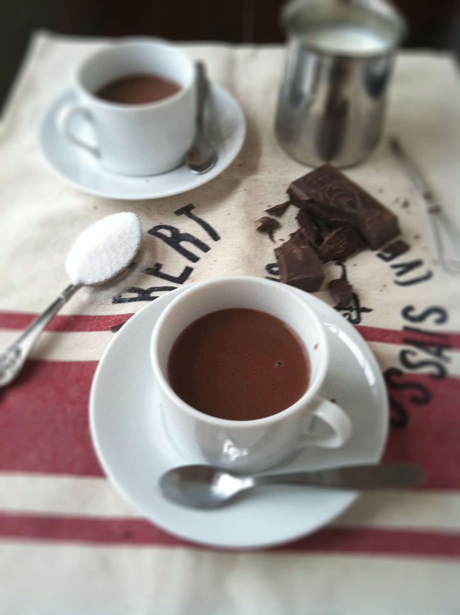 How to make italian hot chocolate bell alimento