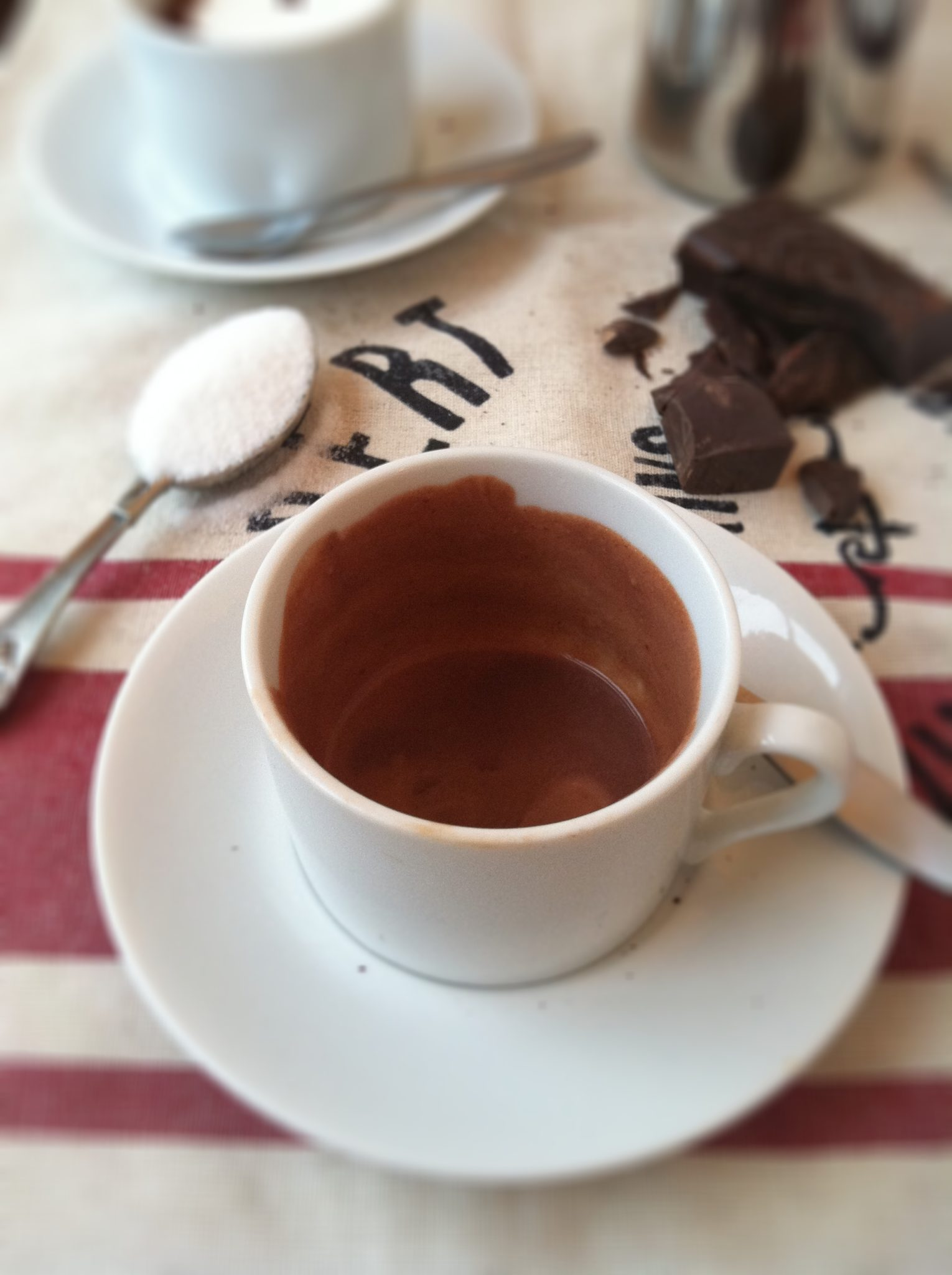 How to Make Italian Hot Chocolate | bell' alimento