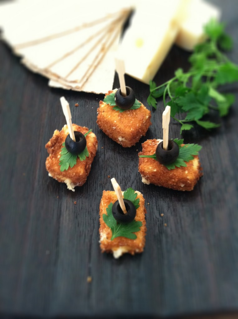 How to Make Fried Cheese | bell' alimento