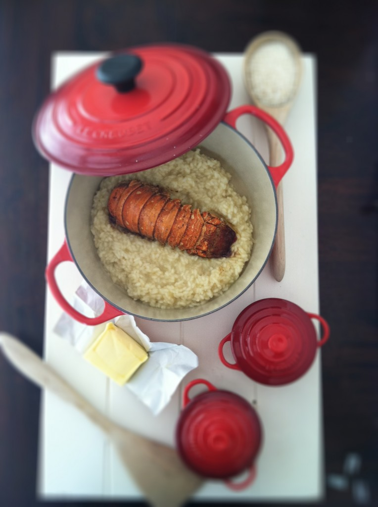 Lobster Risotto www.bellalimento.com