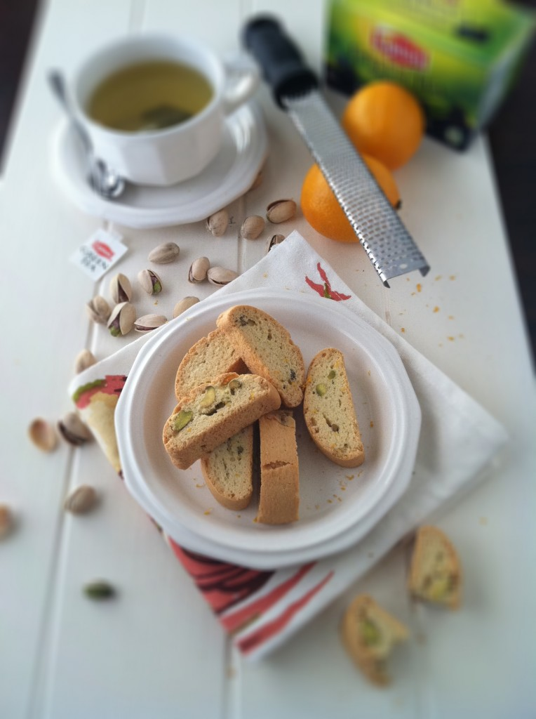 Pistachio and Meyer Lemon Biscotti | bell' alimento