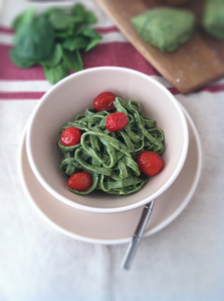 How to Make Spinach Pasta