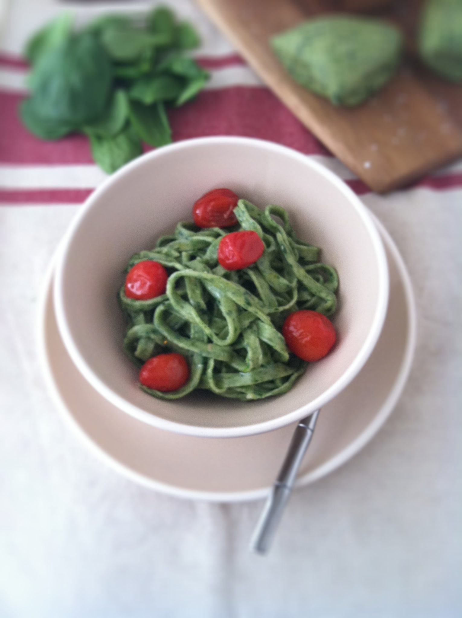 How to Make Spinach Pasta | bell' alimento
