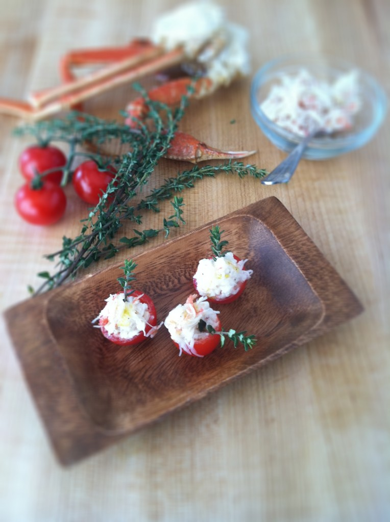 Cherry Tomato and Crab Bites | bell' alimento