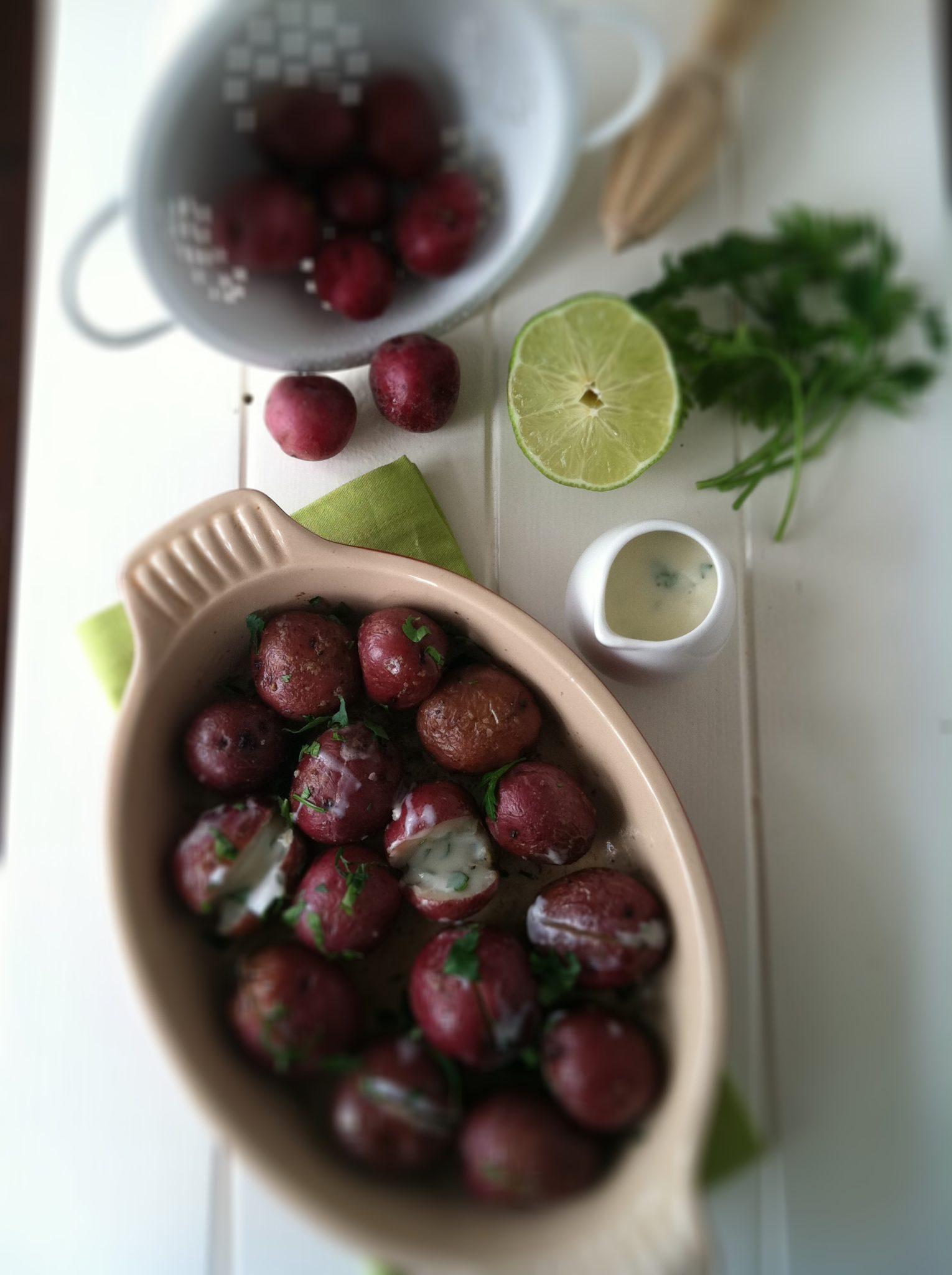Potatoes with Yogurt Sauce   bell' alimento
