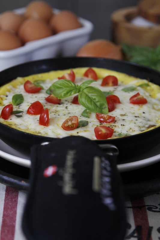 Frittata With Sausage, Wild Mushrooms And Cheddar Recipes — Dishmaps