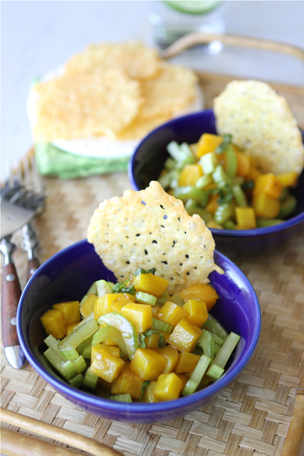 ... brought dubliner cheese cayenne crisps with golden beet basil salad