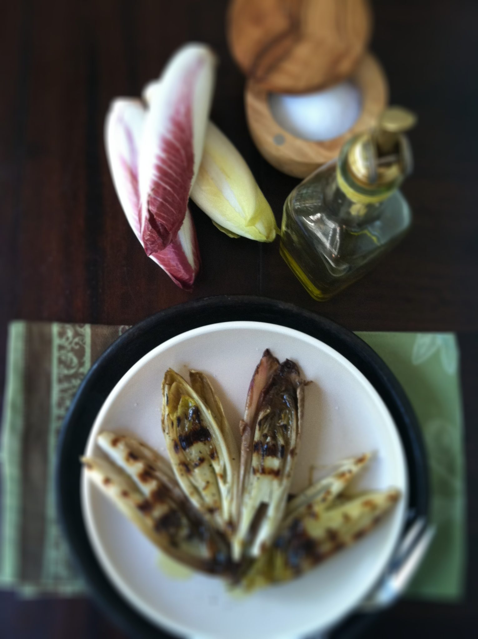 How to Grill Endive - bell' alimento | bell' alimento