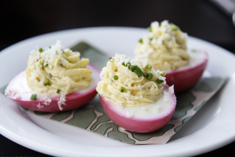 Beet Pickled Eggs For 1000 Cooks For The Cure | bell' alimento