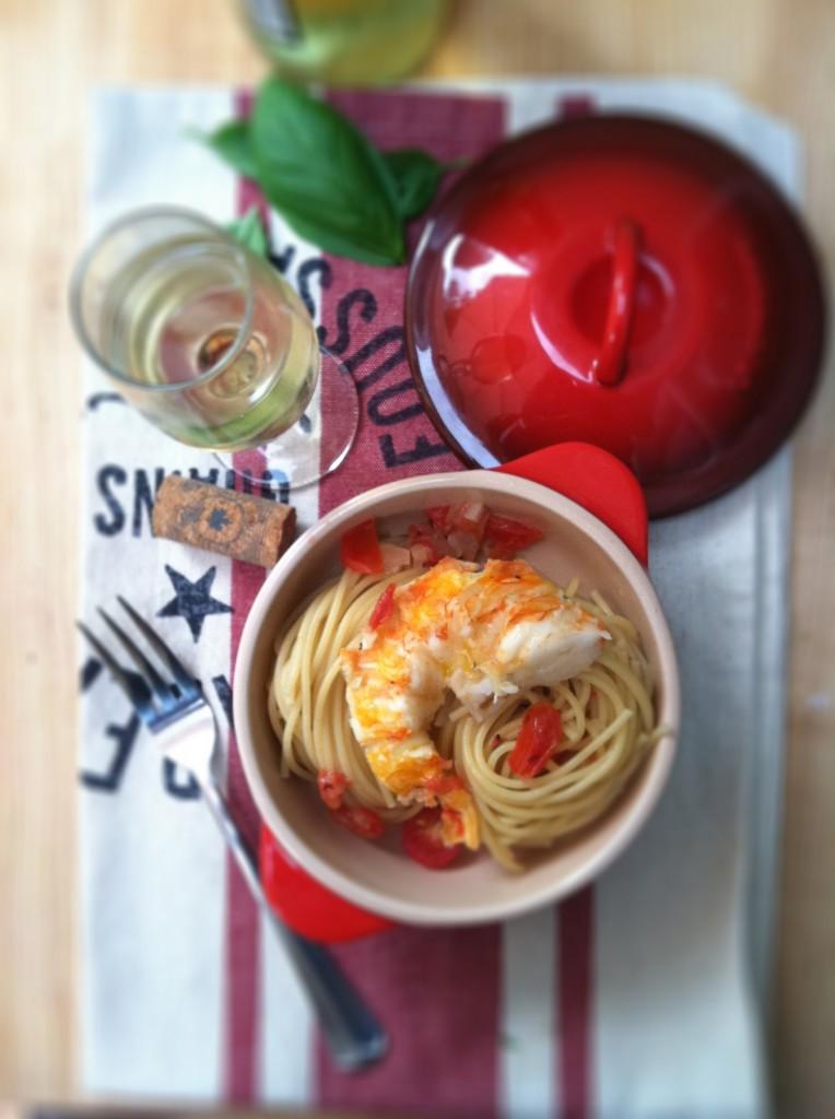 Lobster Spaghetti www.bellalimento.com