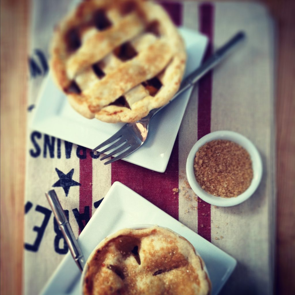 Peach Bourbon Pies | bell' alimento