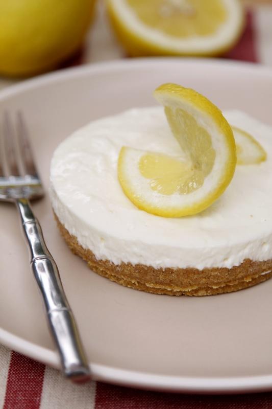 Limoncello No Bake Cheesecake