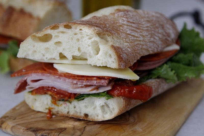 Italian Sub Sandwich + {Panera Contest}