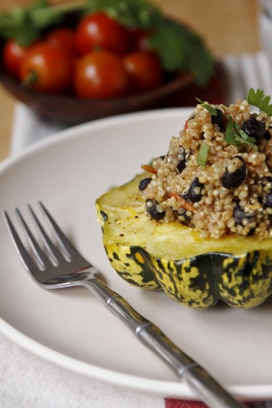 Quinoa Stuffed Squash | bell' alimento