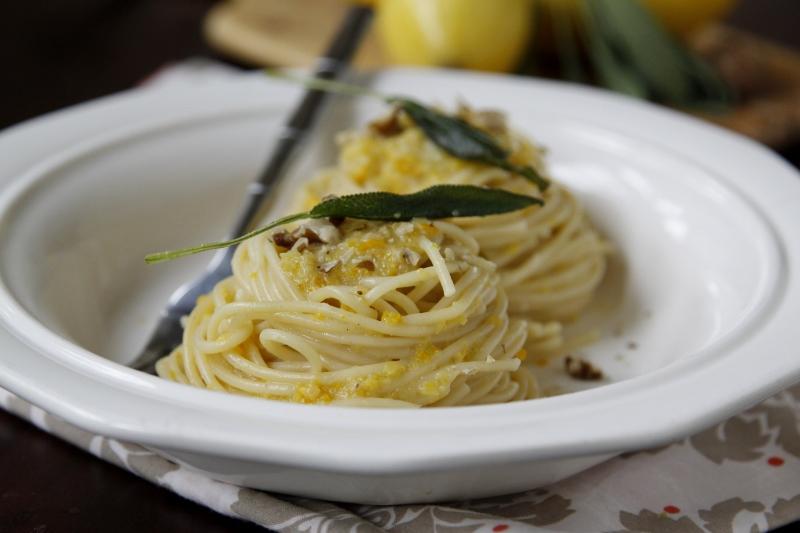 sage brown butter sauce butternut squash pasta sauce roasted butternut ...