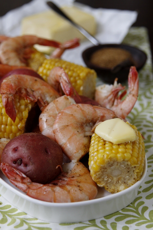 Low Country Seafood Bake   bell' alimento