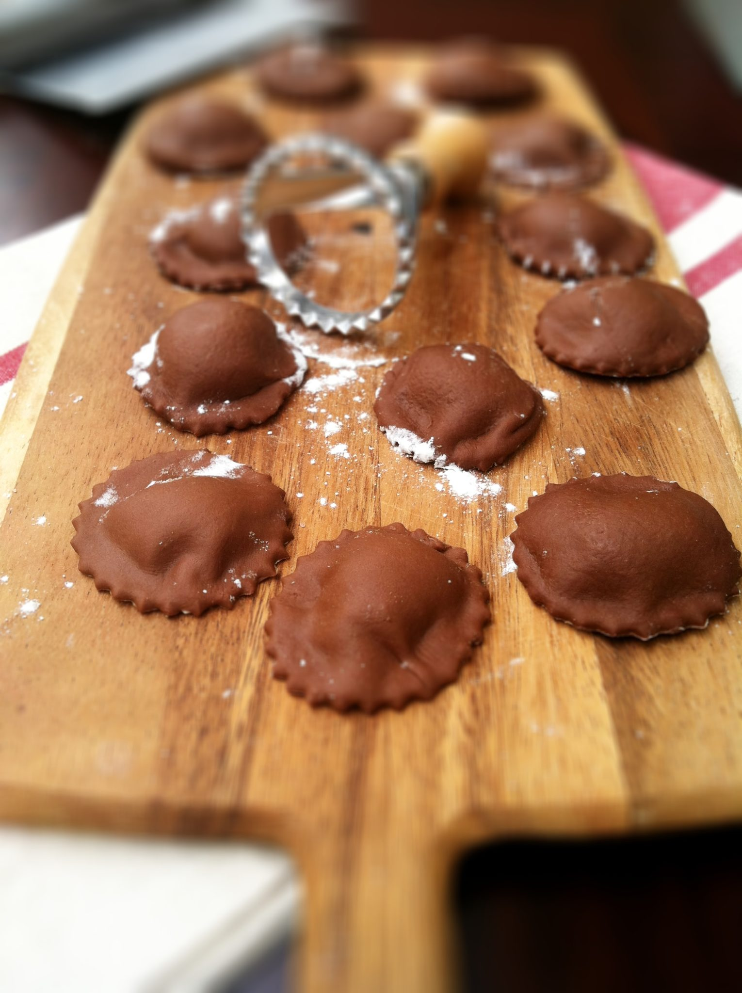 How to Make Chocolate Ravioli | bell' alimento