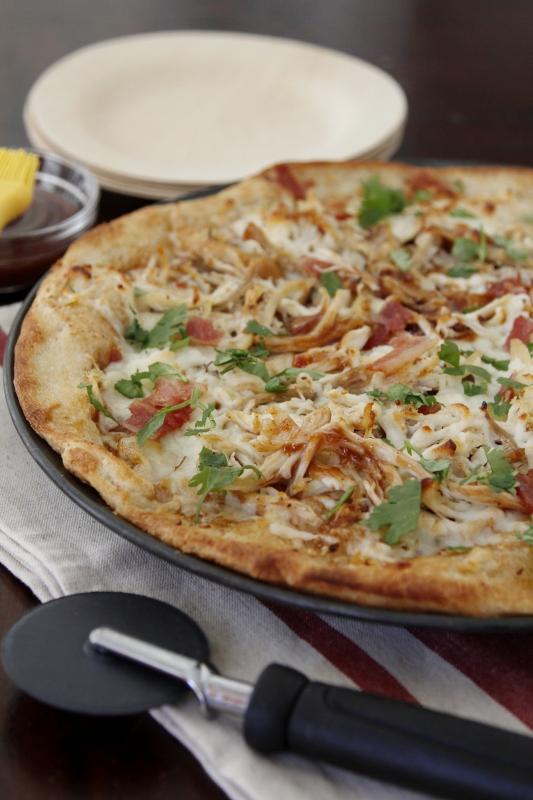 BBQ Turkey Pizza