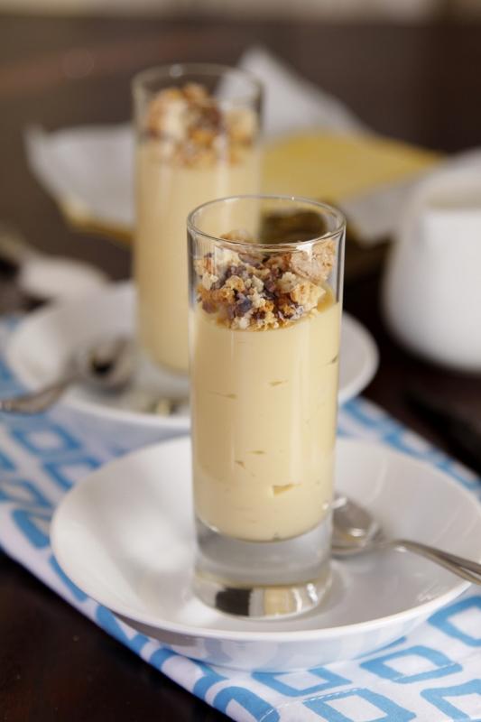 Vanilla Caramel Budino | bell' alimento