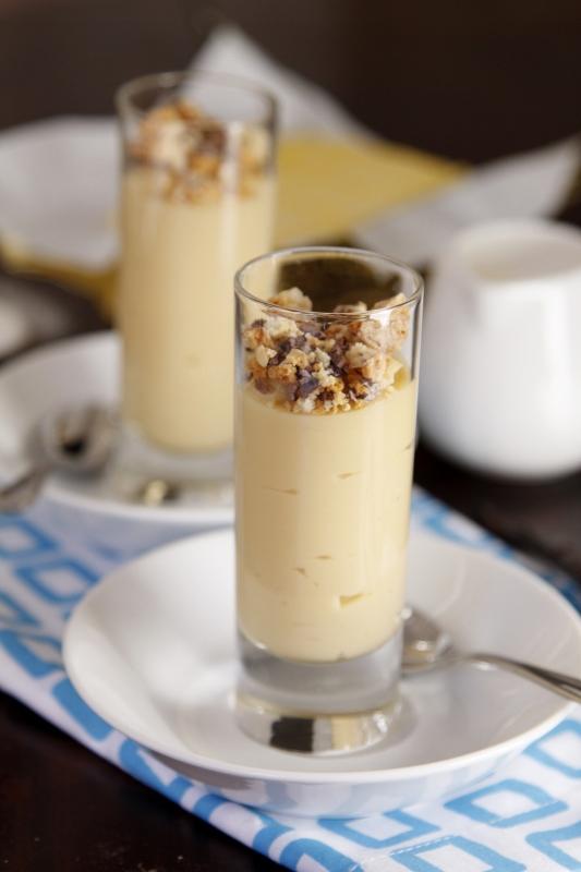 Vanilla Caramel Budino   bell' alimento
