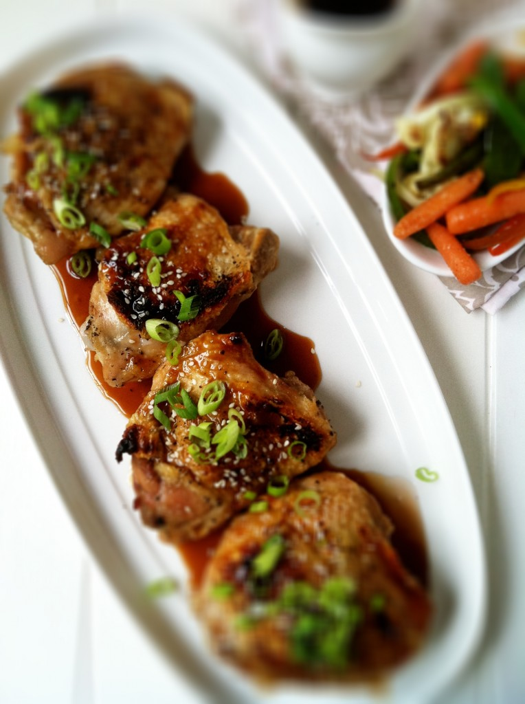 Orange Soy Glazed Chicken Thighs | bell' alimento