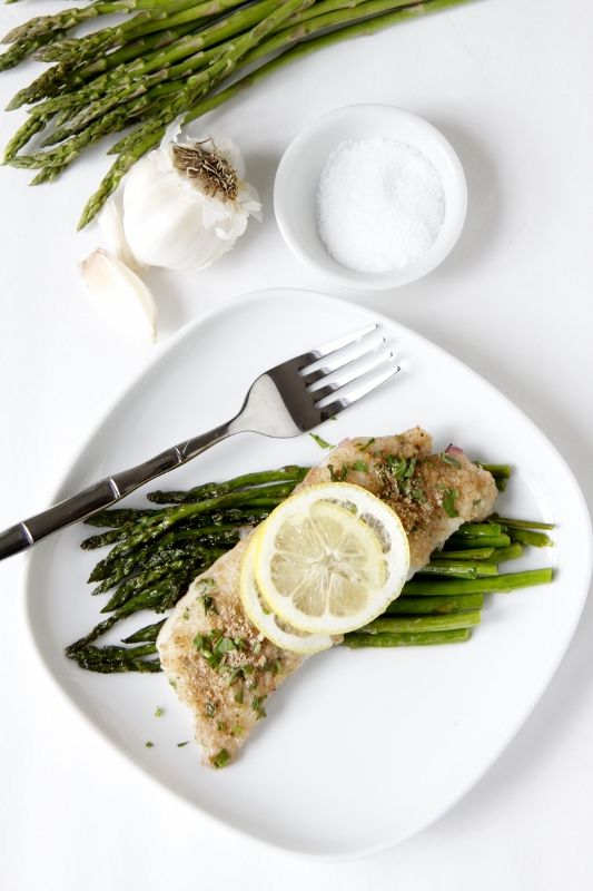 Herb Crusted Baked Cod www.bellalimento.com