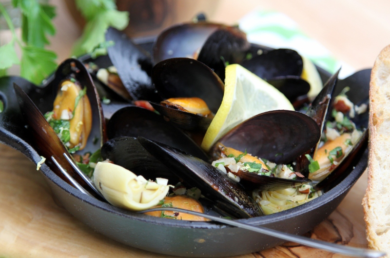 Mussels With Hazelnut Gremolata + Flavor Forecast 2013 Recipes ...