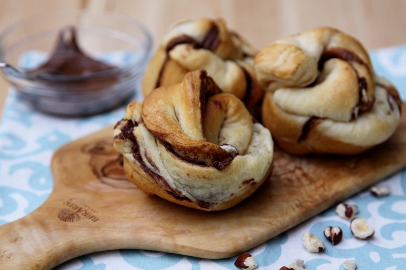 Nutty Nutella Rolls