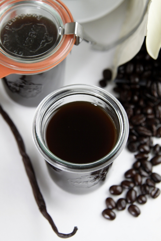 How To Make Coffee Liqueur Recipe — Dishmaps